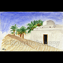 DJERBA - Aquarelles © Natacha LATAPPY Reproduction interdite